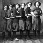 Girls Basketball Team 1910