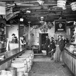 Interior of Bert Mason's